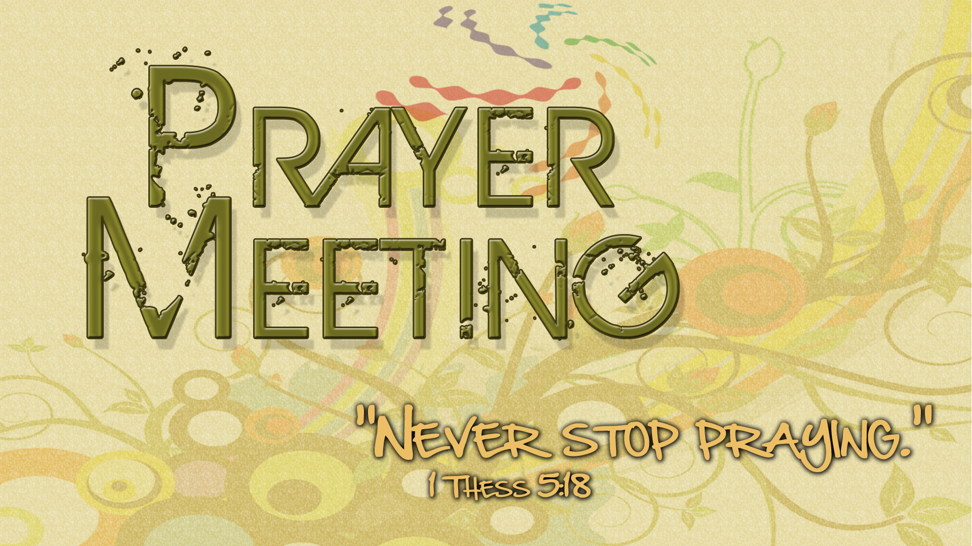 opinions on prayer meeting